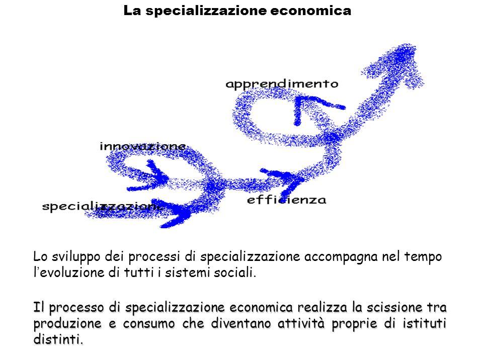 La specializzazione economica