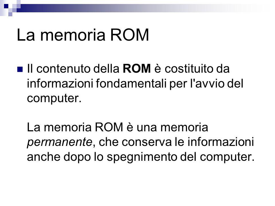 La memoria ROM