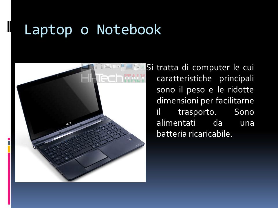 Laptop o Notebook
