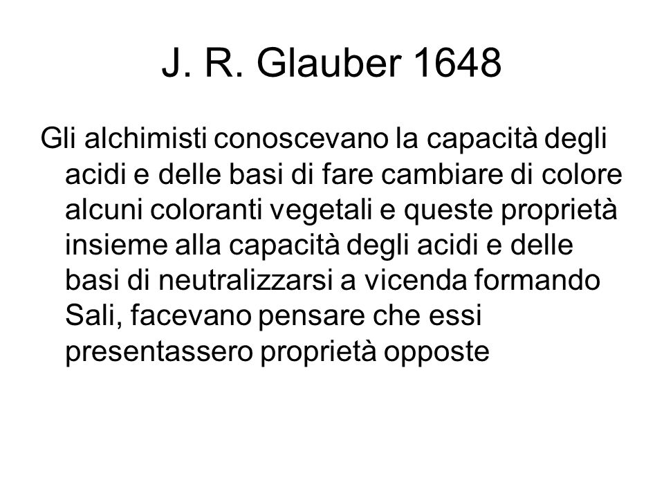 J. R. Glauber 1648