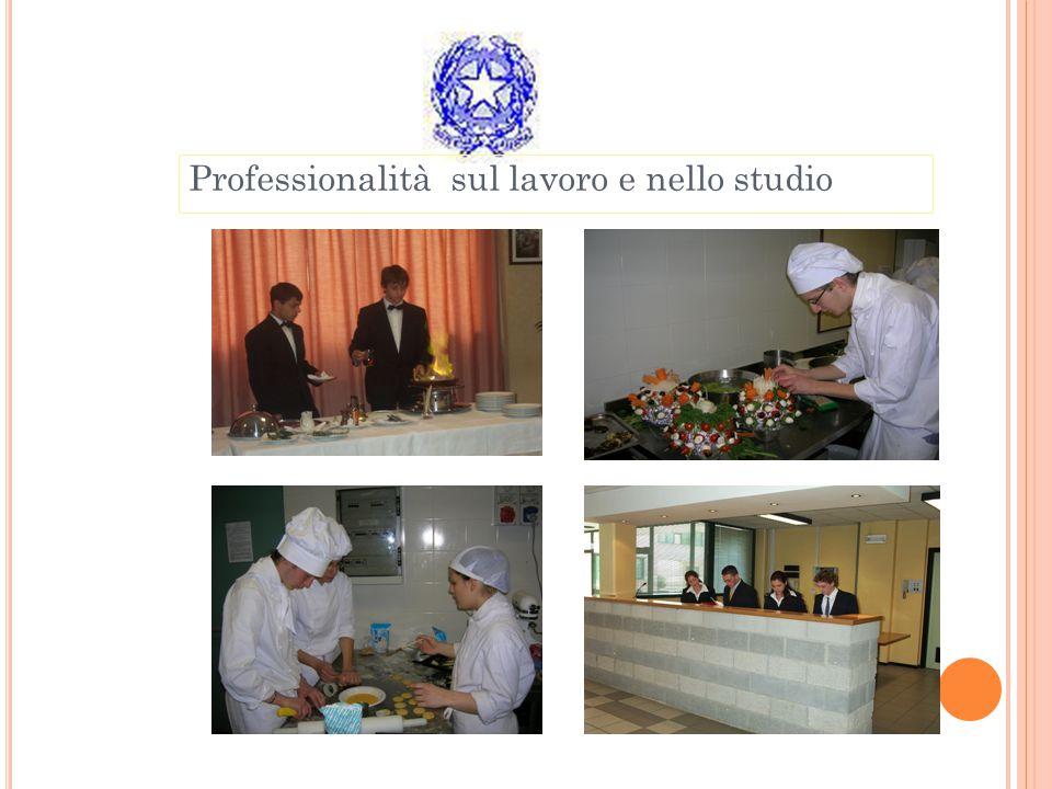 Professionalità sul lavoro e nello studio