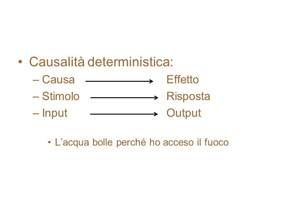 Causalità deterministica: