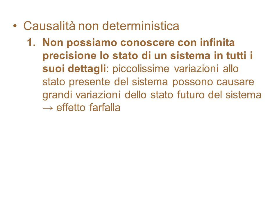 Causalità non deterministica