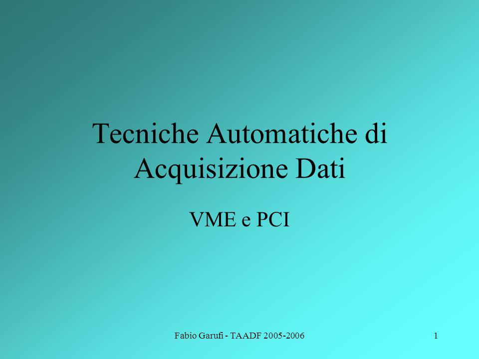 Tecniche Automatiche di Acquisizione Dati