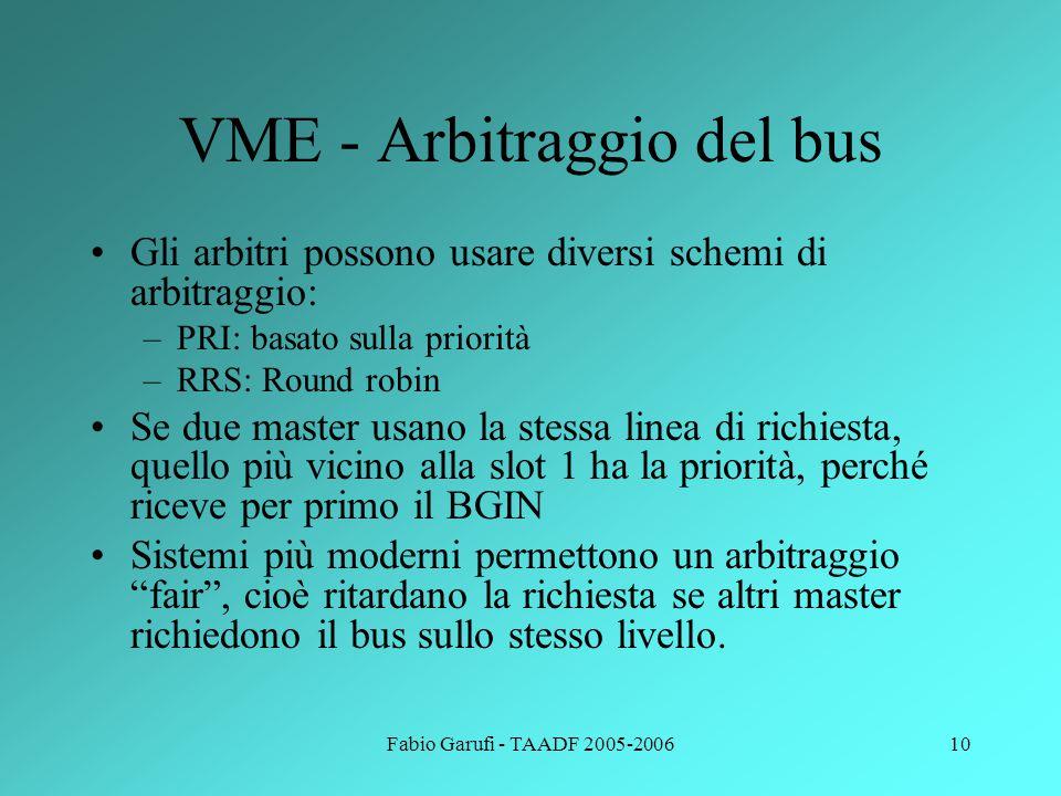 VME - Arbitraggio del bus