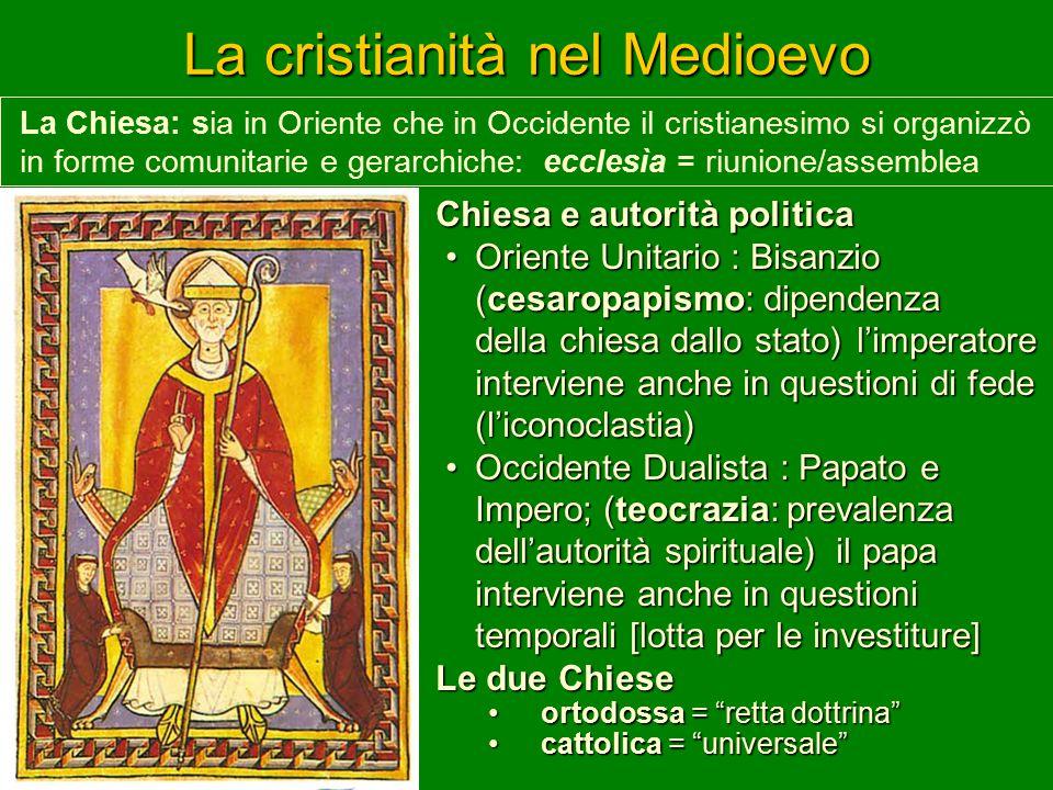 La cristianità nel Medioevo