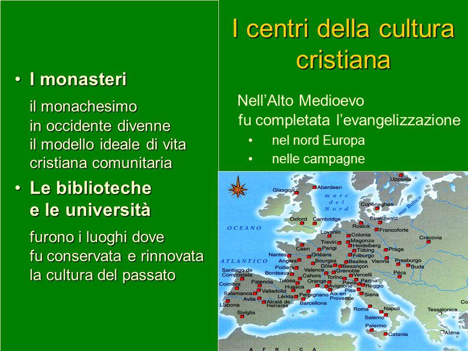 I centri della cultura cristiana