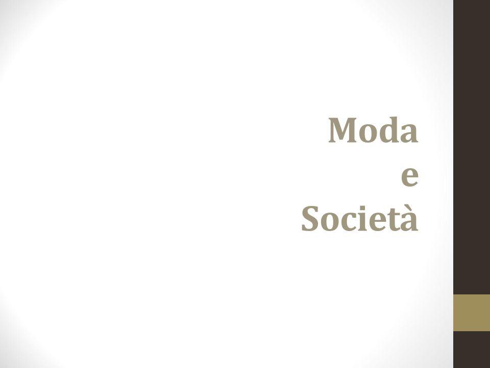 Moda e Società