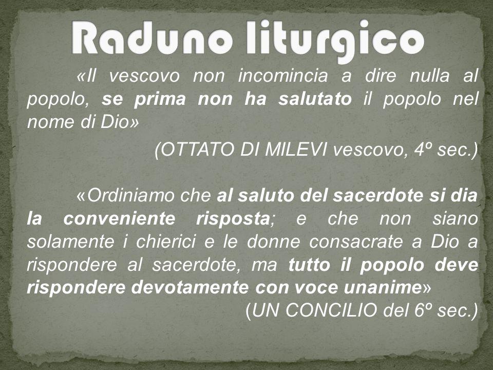 Raduno liturgico (OTTATO DI MILEVI vescovo, 4º sec.)