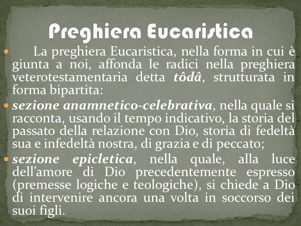 Preghiera Eucaristica