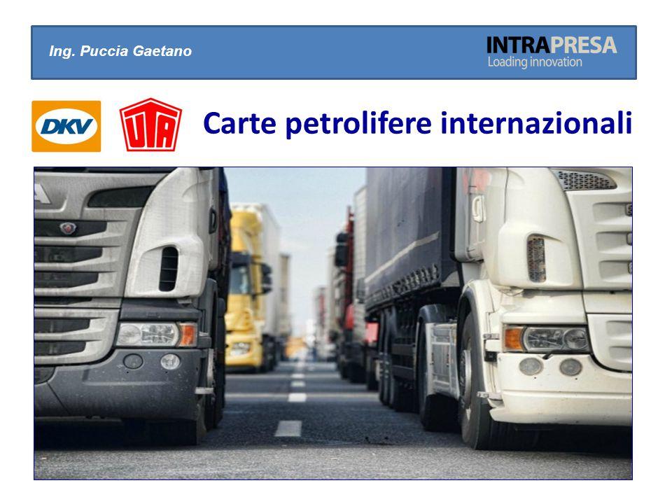 Carte petrolifere internazionali