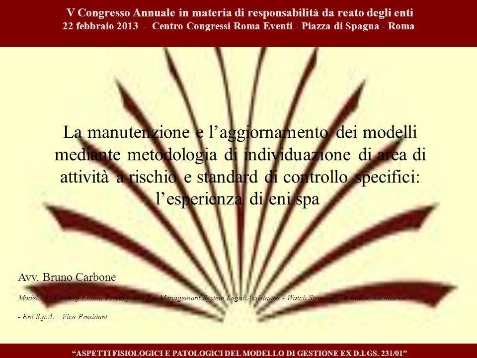 V Congresso Annuale in materia di responsabilità da reato degli enti
