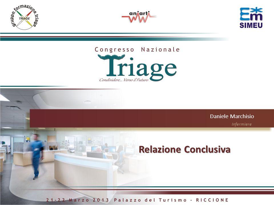 Daniele Marchisio Infermiere Relazione Conclusiva