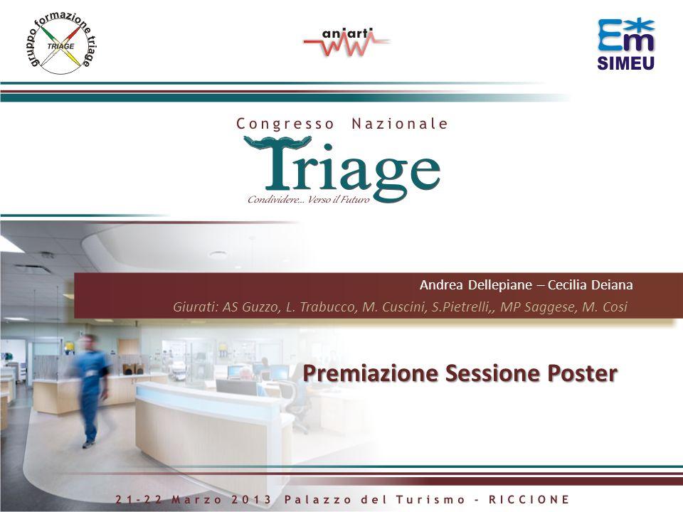 Premiazione Sessione Poster