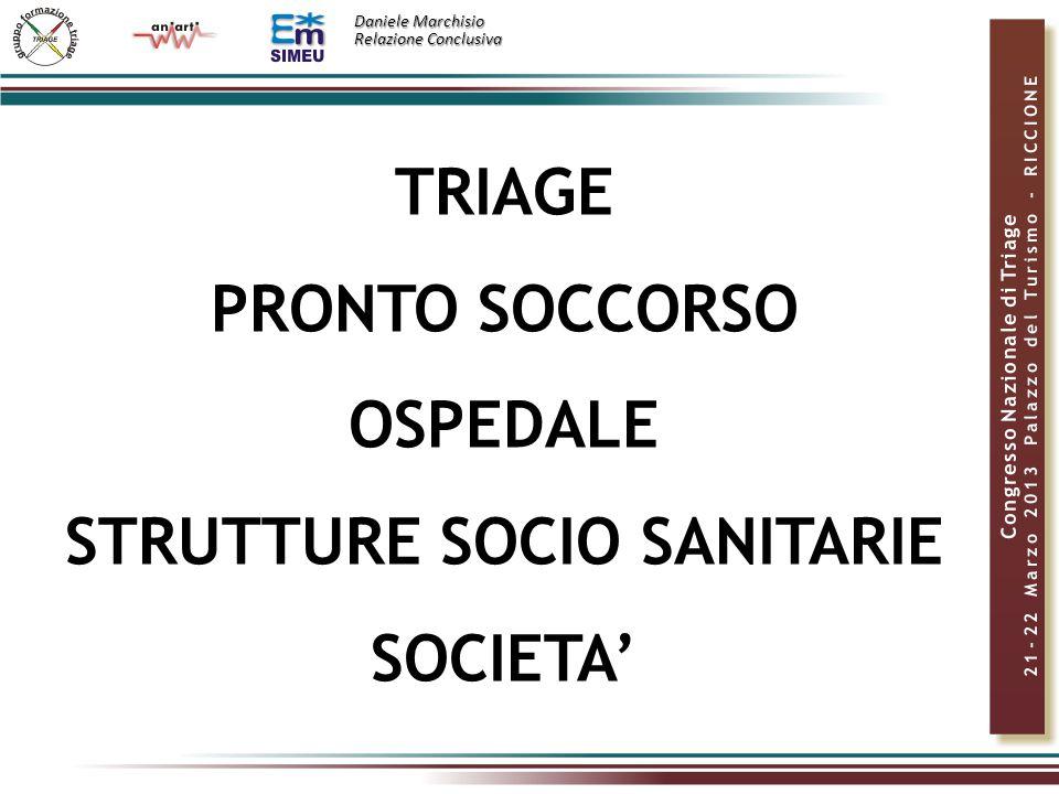 STRUTTURE SOCIO SANITARIE