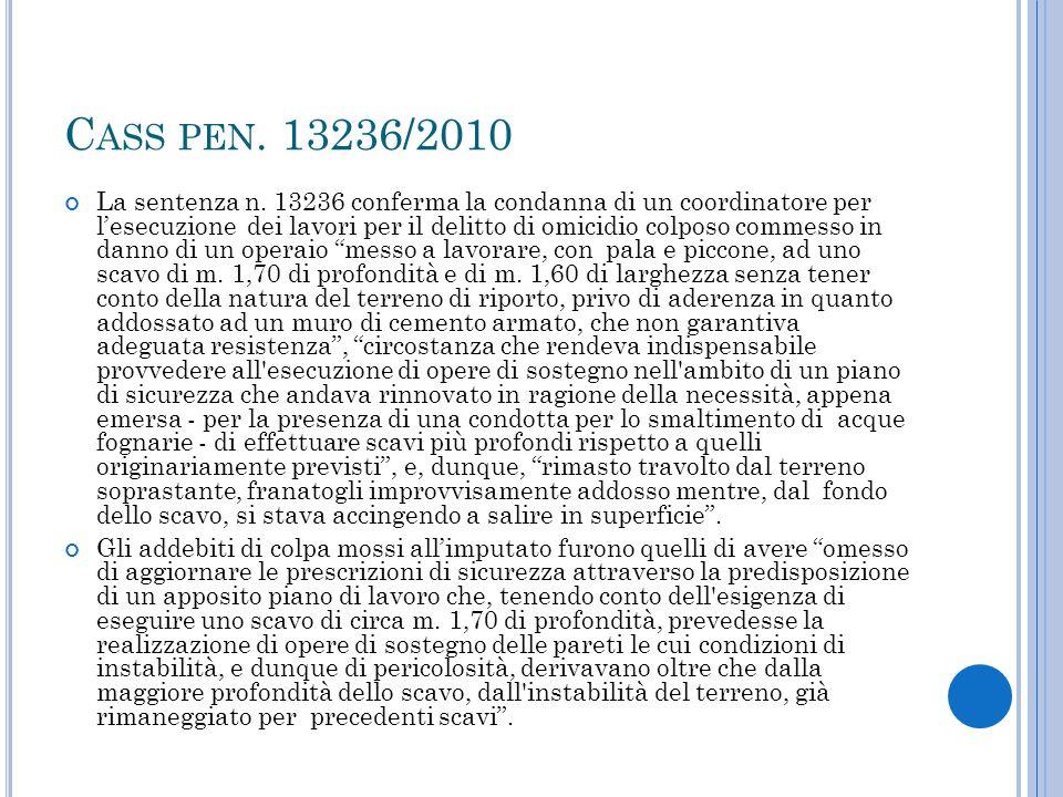 Cass pen. 13236/2010