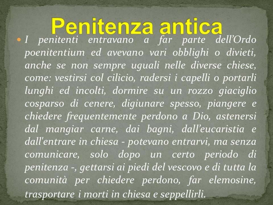 Penitenza antica