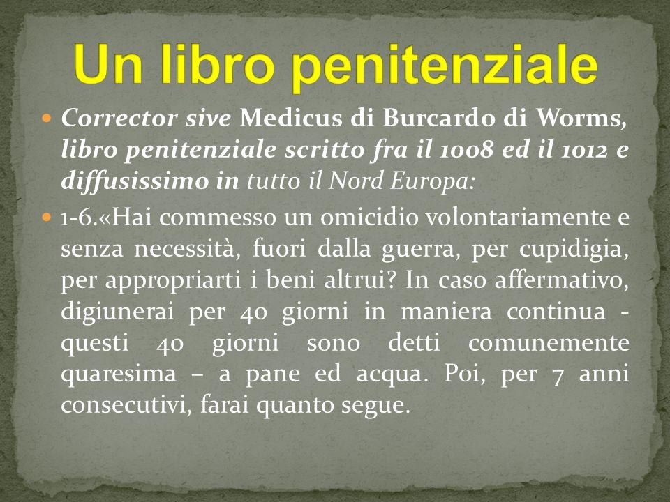 Un libro penitenziale