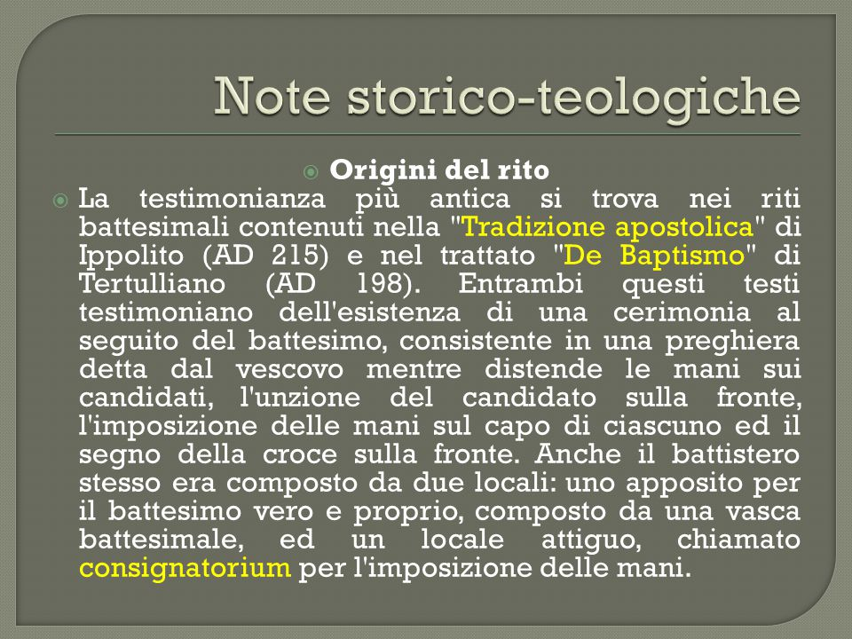 Note storico-teologiche