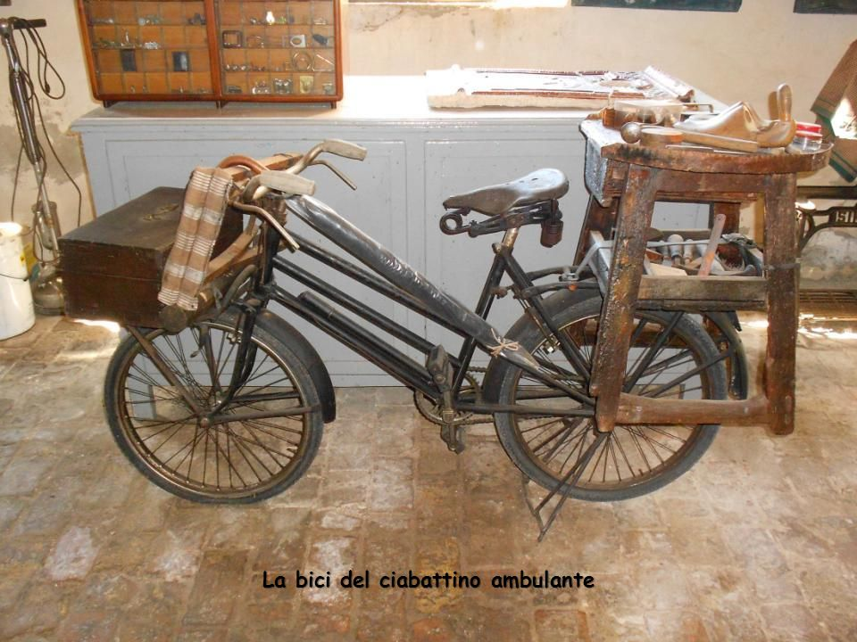 La bici del ciabattino ambulante