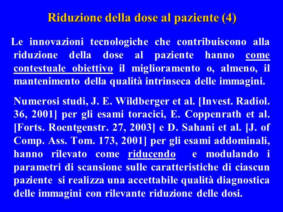 Riduzione della dose al paziente (4)