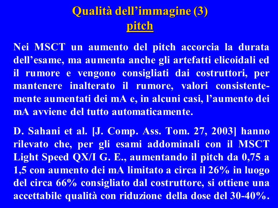 Qualità dell'immagine (3) pitch