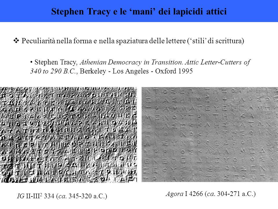 Stephen Tracy e le 'mani' dei lapicidi attici