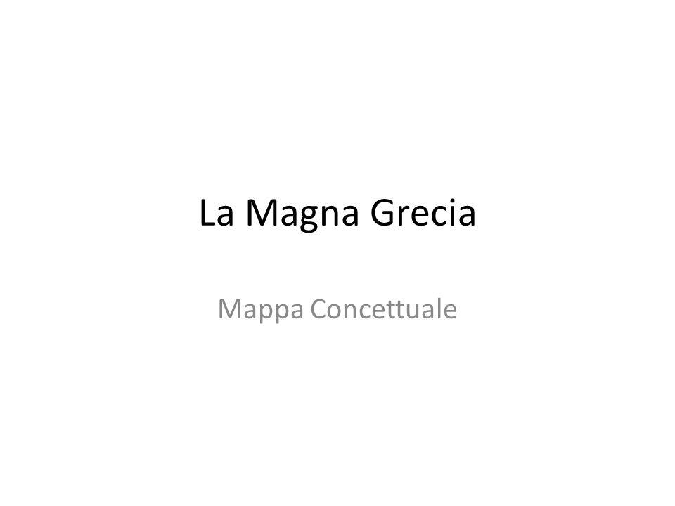 La Magna Grecia Mappa Concettuale