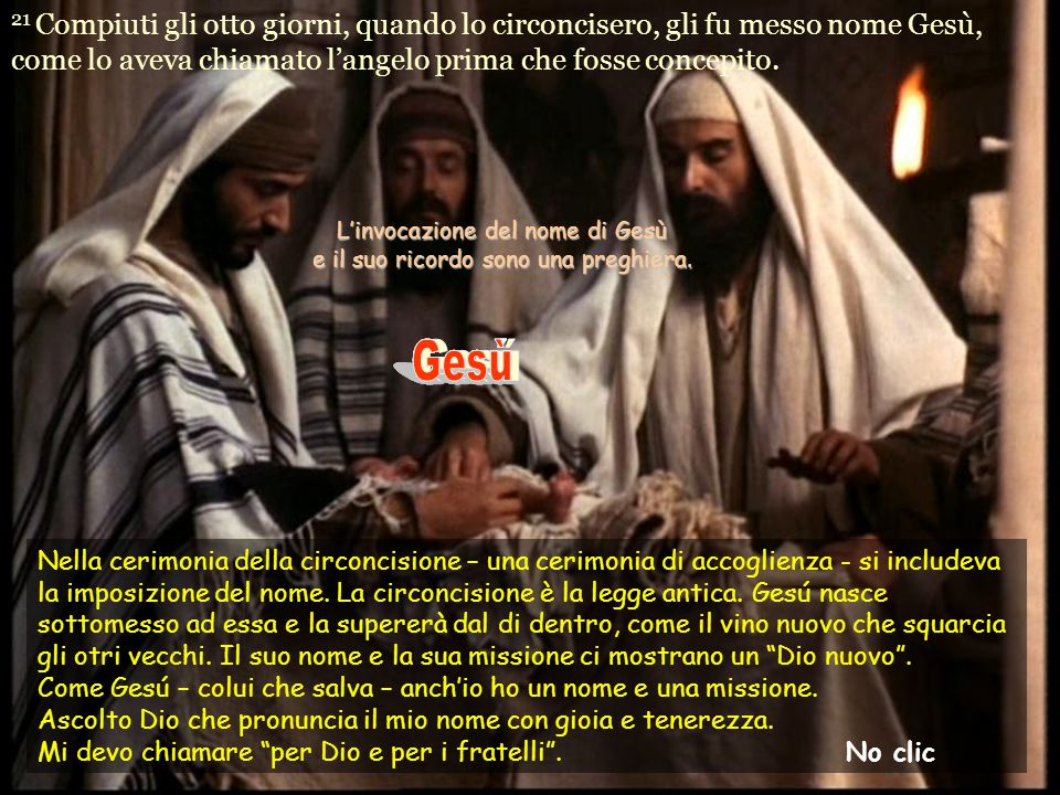 L'invocazione del nome di Gesù e il suo ricordo sono una preghiera.