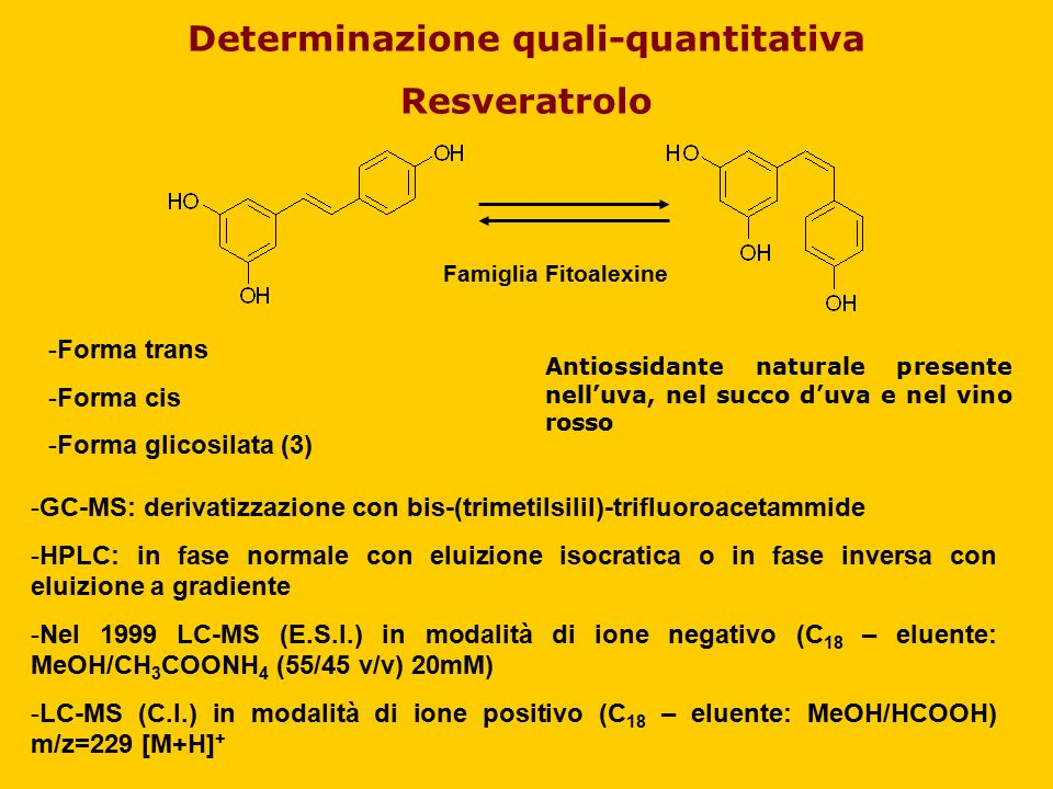 Determinazione quali-quantitativa