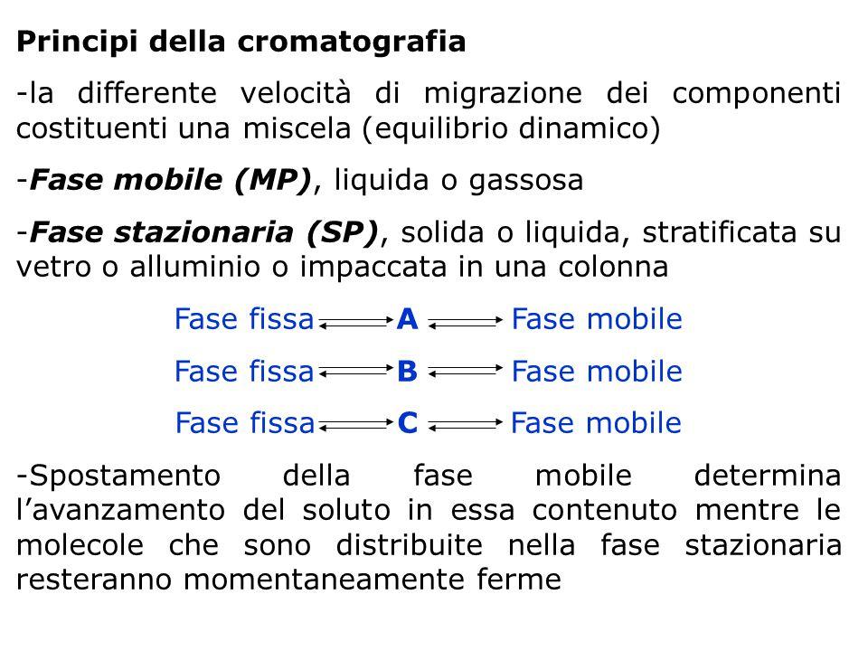 Principi della cromatografia