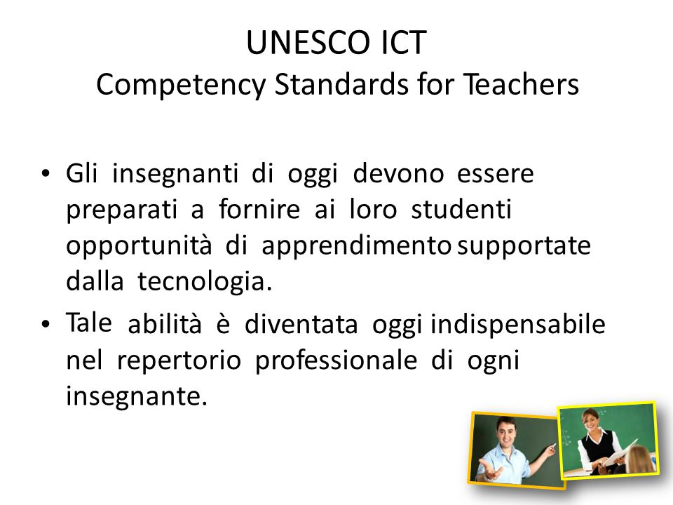 Competency Standards for Teachers