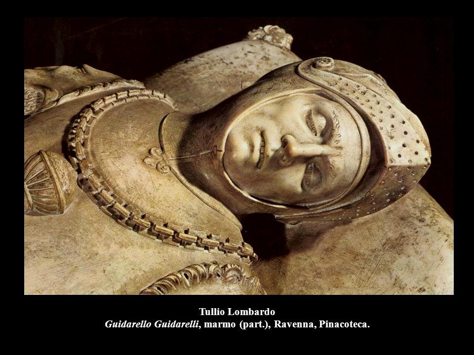 Tullio Lombardo Guidarello Guidarelli, marmo (part