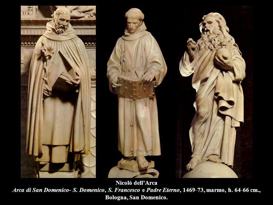 Nicolò dell'Arca Arca di San Domenico- S. Domenico, S