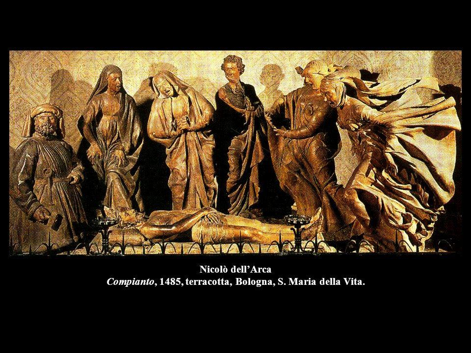 Nicolò dell'Arca Compianto, 1485, terracotta, Bologna, S