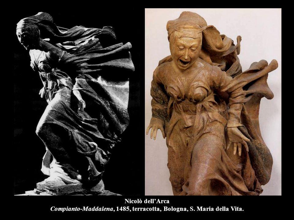 Nicolò dell'Arca Compianto-Maddalena, 1485, terracotta, Bologna, S