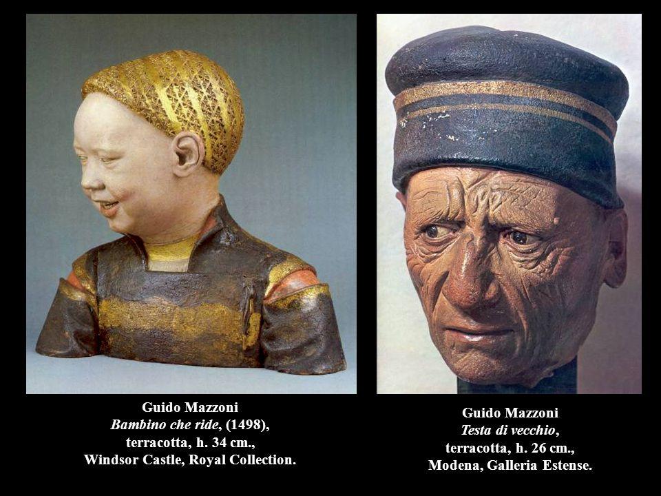 Guido Mazzoni Bambino che ride, (1498), terracotta, h. 34 cm
