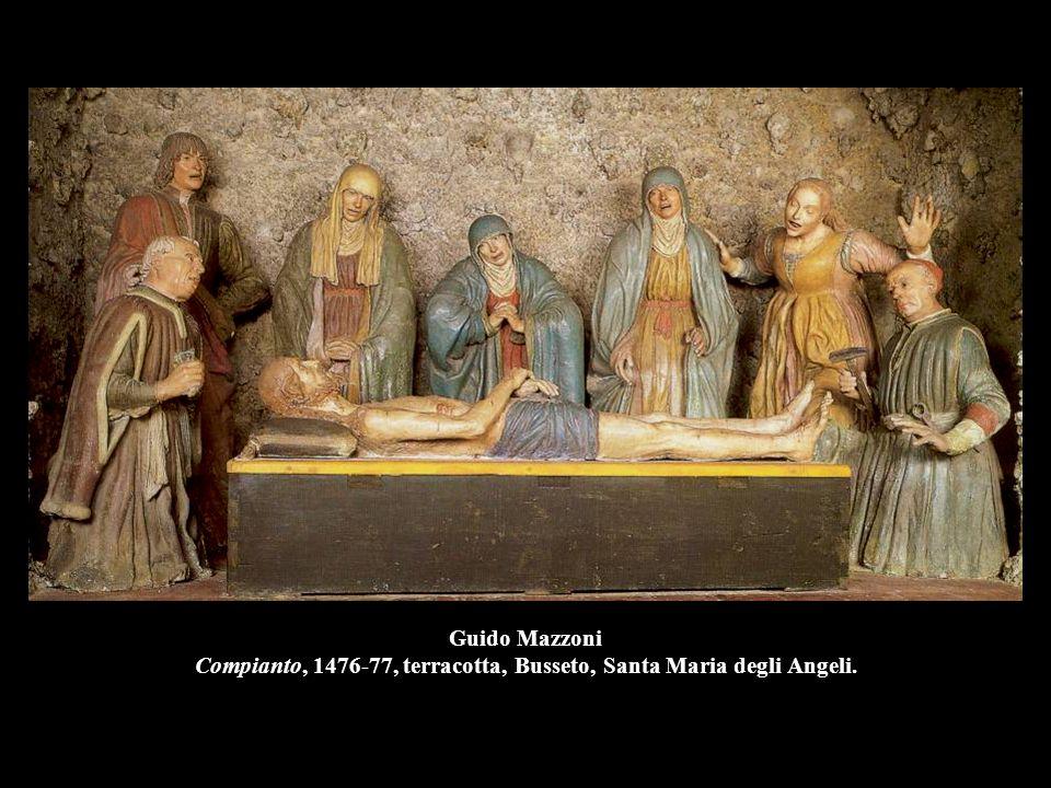 Guido Mazzoni Compianto, 1476-77, terracotta, Busseto, Santa Maria degli Angeli.