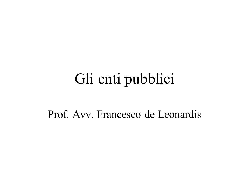Prof. Avv. Francesco de Leonardis