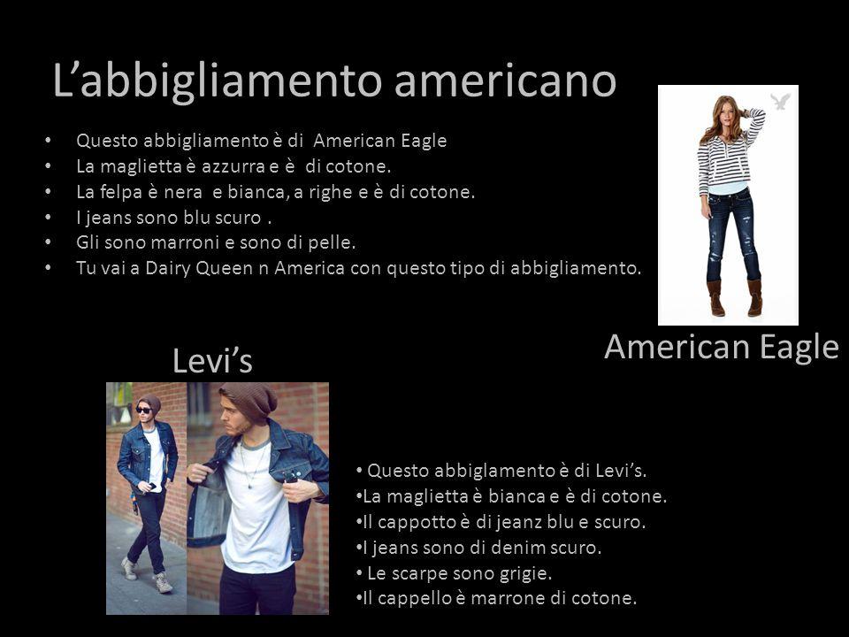 L'abbigliamento americano
