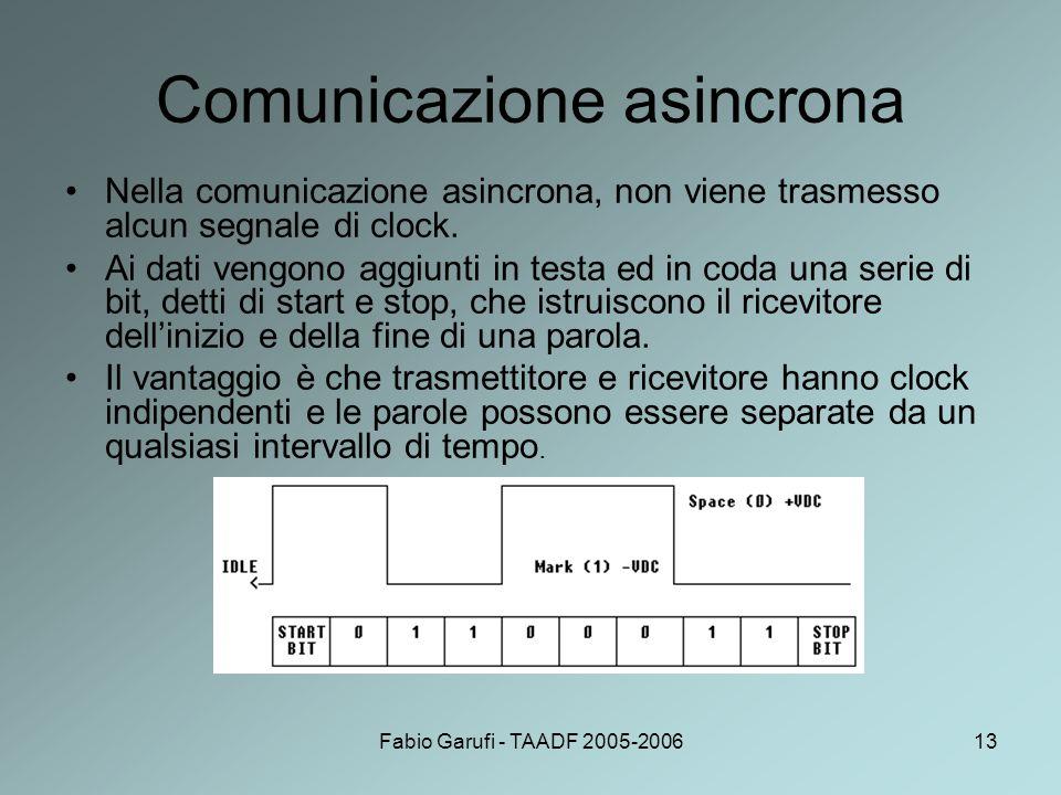 Comunicazione asincrona