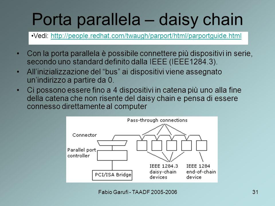 Porta parallela – daisy chain
