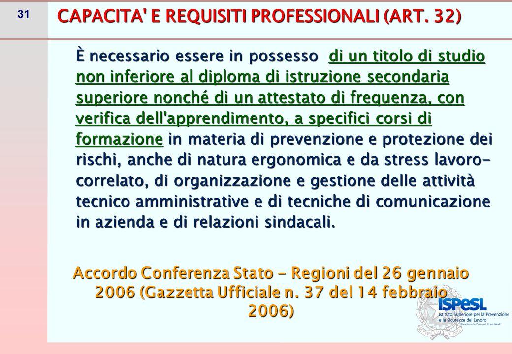 IL CORSO DI FORMAZIONE PER RSPP/ASPP