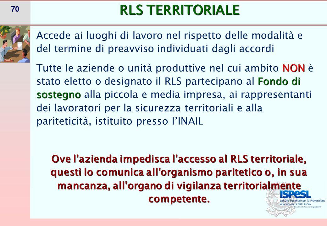 RLS TERRITORIALE
