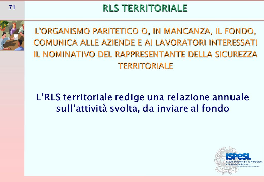 FORMAZIONE RLS TERRITORIALE