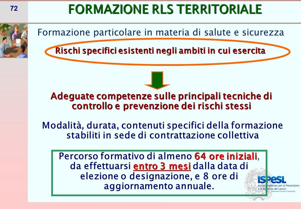 RLS DI SITO PRODUTTIVO- Art. 49