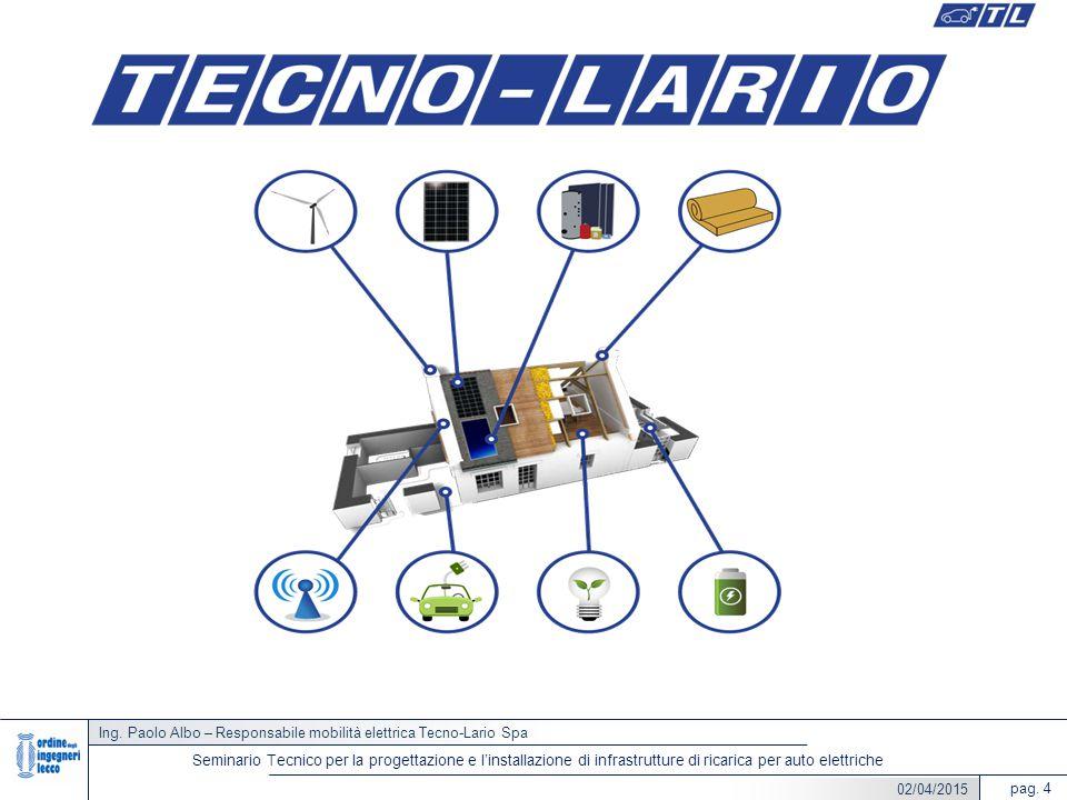 Ing. Paolo Albo – Responsabile mobilità elettrica Tecno-Lario Spa