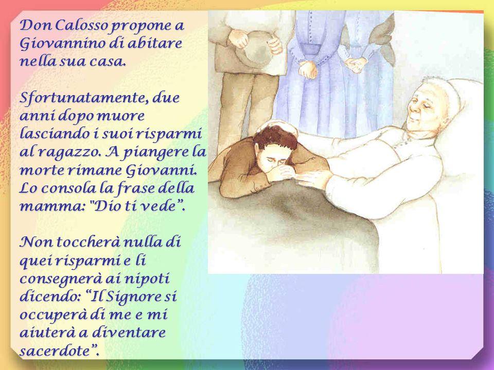 Don Calosso propone a Giovannino di abitare nella sua casa.