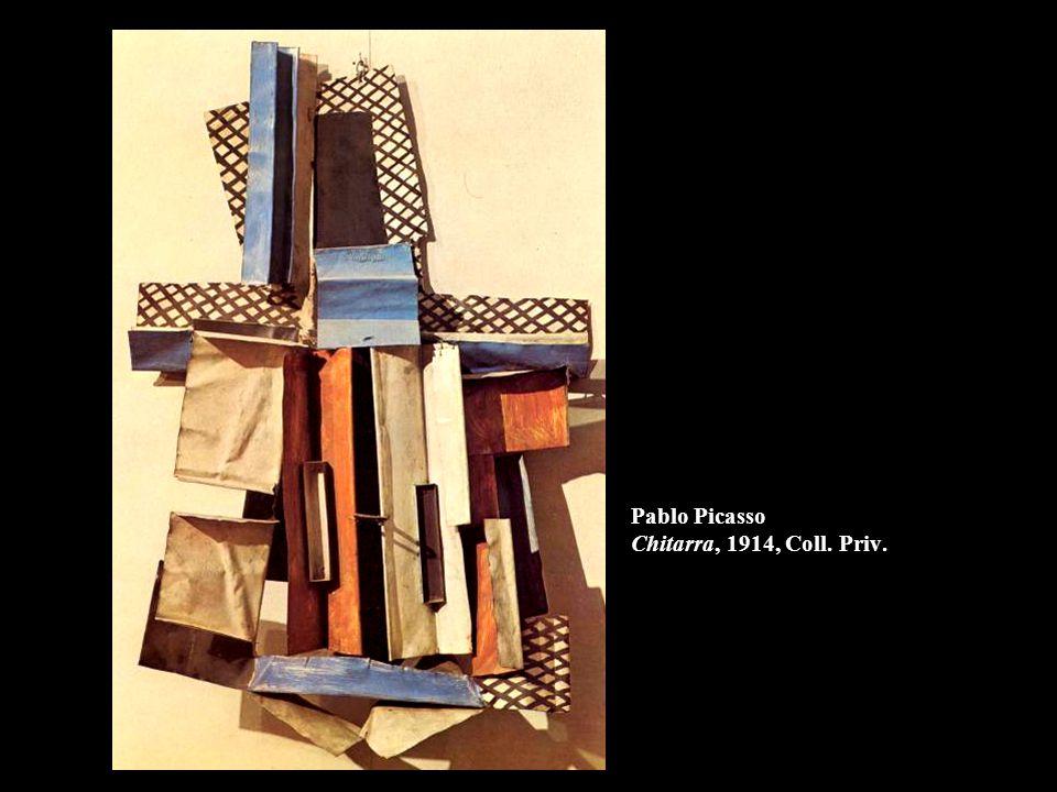 Pablo Picasso Chitarra, 1914, Coll. Priv.