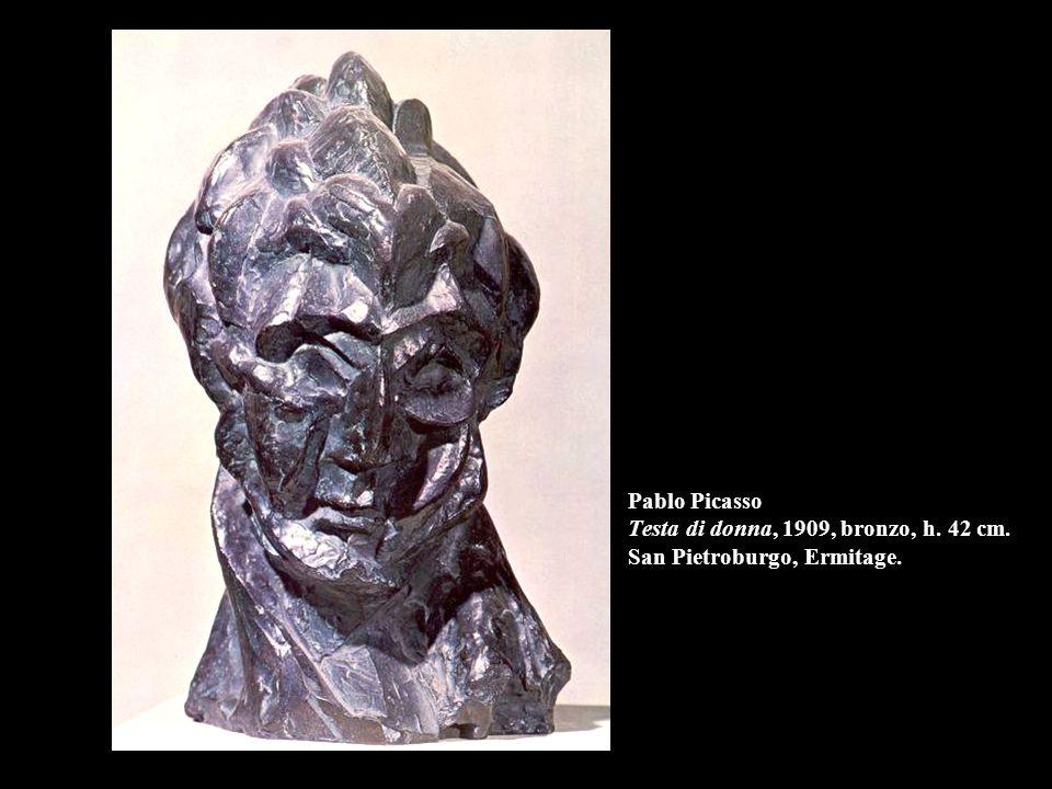 Pablo Picasso Testa di donna, 1909, bronzo, h. 42 cm